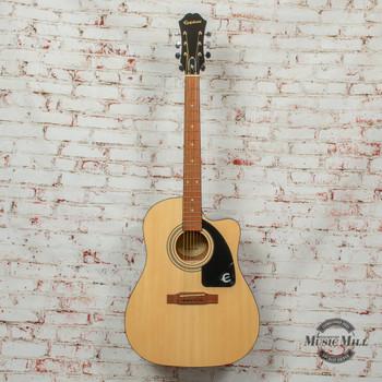 Epiphone AJ-100CE Acoustic/Electric Guitar Natural x4880