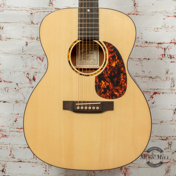 Recording King G6 Series Solid Top 14th Fret 000 Acoustic Guitar Natural x8698