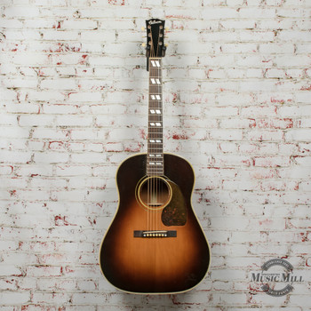 1942 Gibson SJ Pre-Banner Prototype Acoustic FON 8074H-18 Vintage w/OHSC