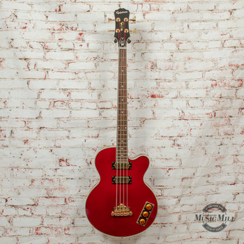 Epiphone Allen Woody Rumblekat Bass Wine Red x1477