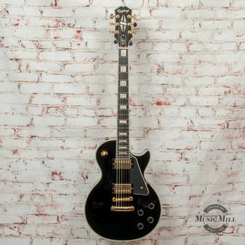 Epiphone Les Paul Custom Electric Guitar Ebony x3650