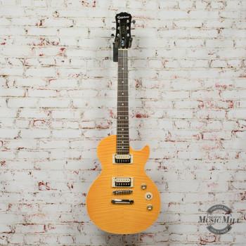 2016 Epiphone Slash AFD Les Paul Special II Electric Guitar Amber x4116 (USED)