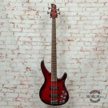 Yamaha TRBX604FM Bass Guitar Dark Red Burst (B-STOCK) x3203