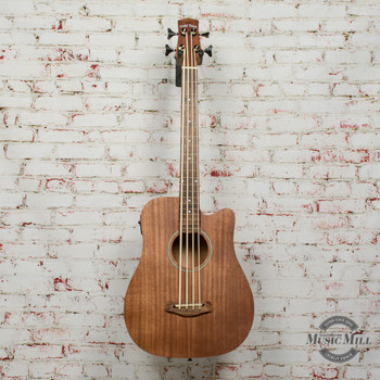 Gold Tone M-Bass25FL 25-Inch Scale Fretless Acoustic-Electric MicroBass with Gig Bag x3944