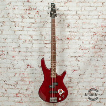 Ibanez GSR200 Bass Guitar Transparent Red x9304