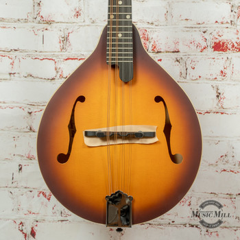 Recording King Dirty 30s A -Style Mandolin Sunburst x8513