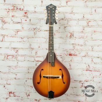 Recording King Dirty 30s A -Style Mandolin Sunburst x8516