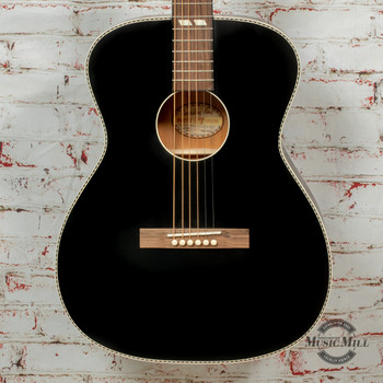 Recording King Dirty 30's Series 7 Acoustic Guitar Matte Black x8472