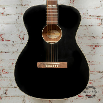 Recording King Dirty 30's Series 7 Acoustic Guitar Matte Black x8471