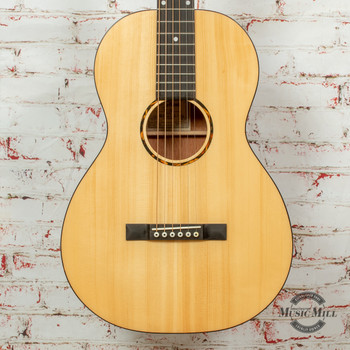 Recording King G6 Series Solid Top Single 0 Acoustic Guitar Natural x8501