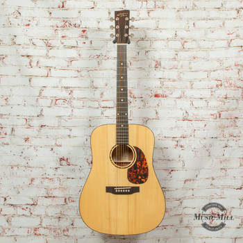 Recording King RD-G6 G6 Series Solid Top Dreadnought Acoustic Guitar Natural x8491