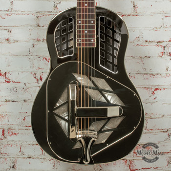Recording King Metal Body Tricone Squareneck Resonator Guitar x8496