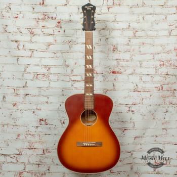 Recording King  Dirty 30s Series 7 000 Acoustic Guitar Tobacco Sunburst x8475