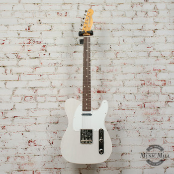 Fender Jimmy Page Mirror Telecaster® Electric Guitar, Rosewood Fingerboard, White Blonde x2109