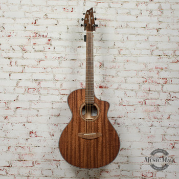 Breedlove Wildwood Concert Satin CE All African Mahogany Acoustic/Electric Guitar x9233