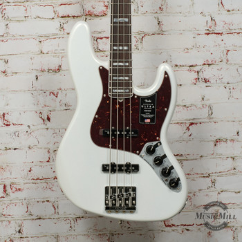 Fender American Ultra Jazz Bass®, Rosewood Fingerboard, Arctic Pearl x5742