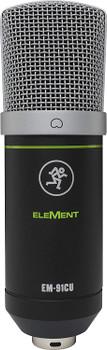 Mackie Element Series Condenser Microphone - USB (EM-91CU)
