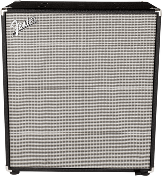 Fender Rumble 410 Cabinet (V3), Black/Silver