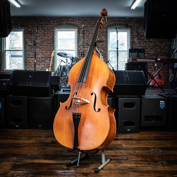 John Juzek Model #400 3/4 Upright Bass (USED) x9005
