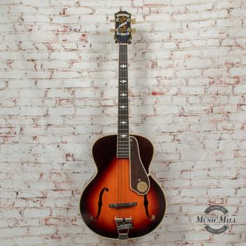 Epiphone De Luxe Classic Archtop Bass Vintage Sunburst x1513