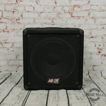440 Live 1x12 Guitar Speaker Cabinet x5362 (USED)