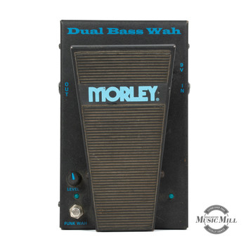 Morley Dual Bass Wah Pedal (USED) x8284
