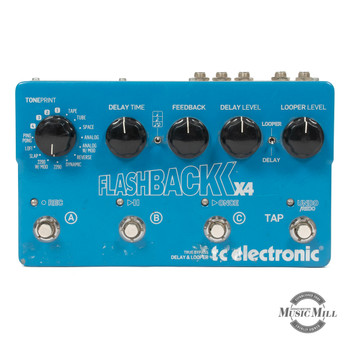 TC Electronic Flashback X4 Delay Pedal (USED) x9541