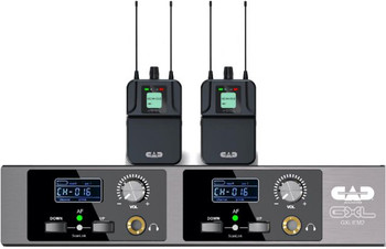CAD Audio GXLIEM2 Dual-Mix In-Ear Wireless Monitoring System (T: 902 to 928 MHz)