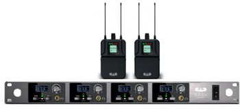 Quad-Mix In-Ear Wireless Monitoring System (T Band: 902 to 928 MHz)