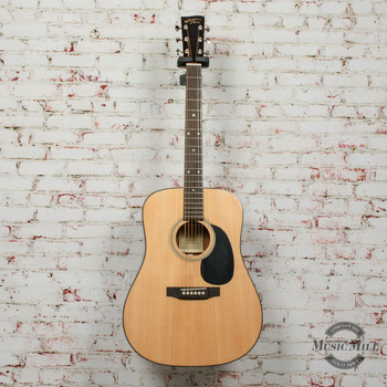 Recording King RD-318 Dreadnought Natural x9564