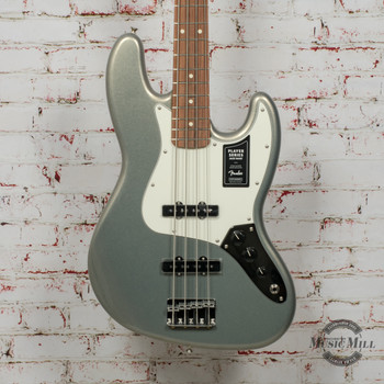Fender Player Jazz Bass Silver x8929
