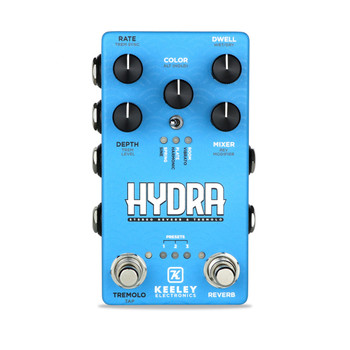 Keeley Hydra Stereo Reverb & Tremolo Pedal