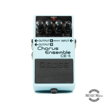 Boss CE-5 Stereo Chorus Ensemble Pedal x7701 (USED)