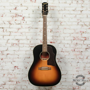 Epiphone Inspired By Gibson J-45 Aged Vintage Sunburst Gloss Acoustic Guitar x6809