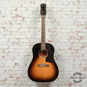 Epiphone Inspired By Gibson J-45 Aged Vintage Sunburst Gloss Acoustic Guitar x6815