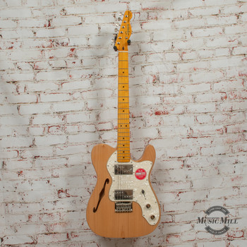 Squier Classic Vibe 70's Telecaster Thinline Electric Guitar Natural x7540