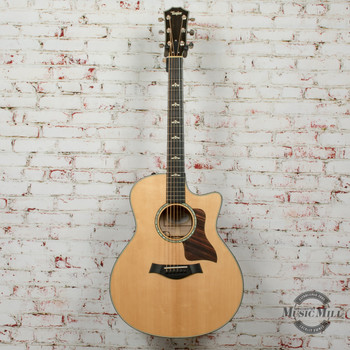 Taylor 616ce Acoustic/Electric Guitar Natural (USED) x6121