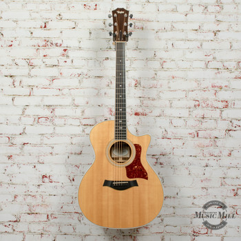 2013 Taylor 414ce Sitka/Ovangkol Acoustic Electric Guitar Natural w/OHSC x3041 (USED)