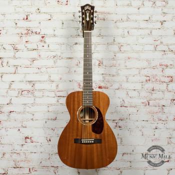 Guild M-120E Acoustic/Electric Guitar Natural Mahogany Gloss x1703