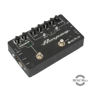 Ampeg SCR-DI Bass Preamp with Scrambler Overdrive Pedal (USED) x9876