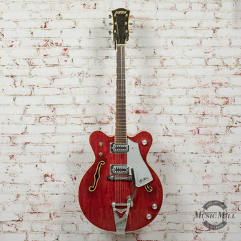 1976 Gretsch 7660 Chet Atkins Nashville Electric Guitar Autumn Red x6070 (USED)