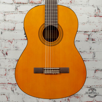 Yamaha CGX102 Classical Acoustic Guitar Natural x7208