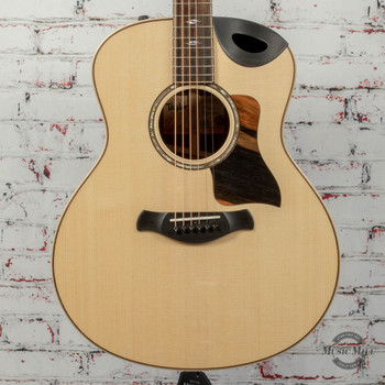 Taylor 816ce Builder's Edition Acoustic/Electric Guitar Natural x0115