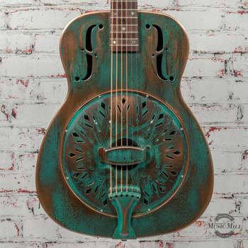 Recording King Swamp Dog Resonator Guitar x0076