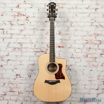 Taylor 210ce Plus Acoustic-Electric Guitar - Natural x0346