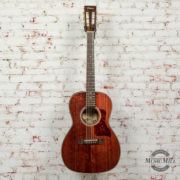 Takamine EF407 Parlor Acoustic/Electric Guitar Natural (USED) x0492