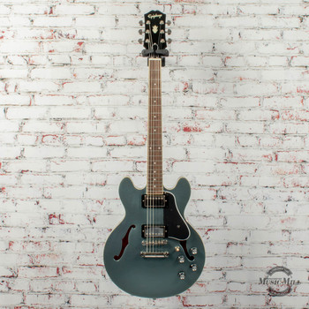 Epiphone Inspired by Gibson ES-339 Hollowbody Electric Guitar Pelham Blue x3121