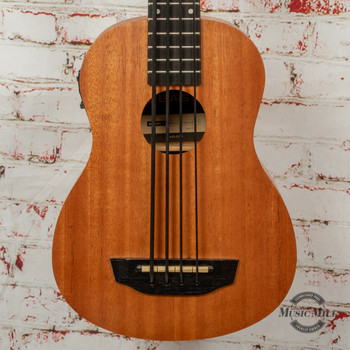 Kala Nomad U-Bass Acoustic/Electric Bass Ukulele Satin Mahogany x9853