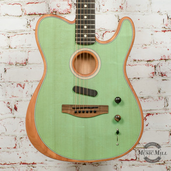 Fender American Acoustasonic Telecaster Surf Green (USED) x6546