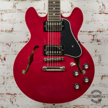 Epiphone Inspired by Gibson ES-339 Hollowbody Electric Guitar Cherry x0171